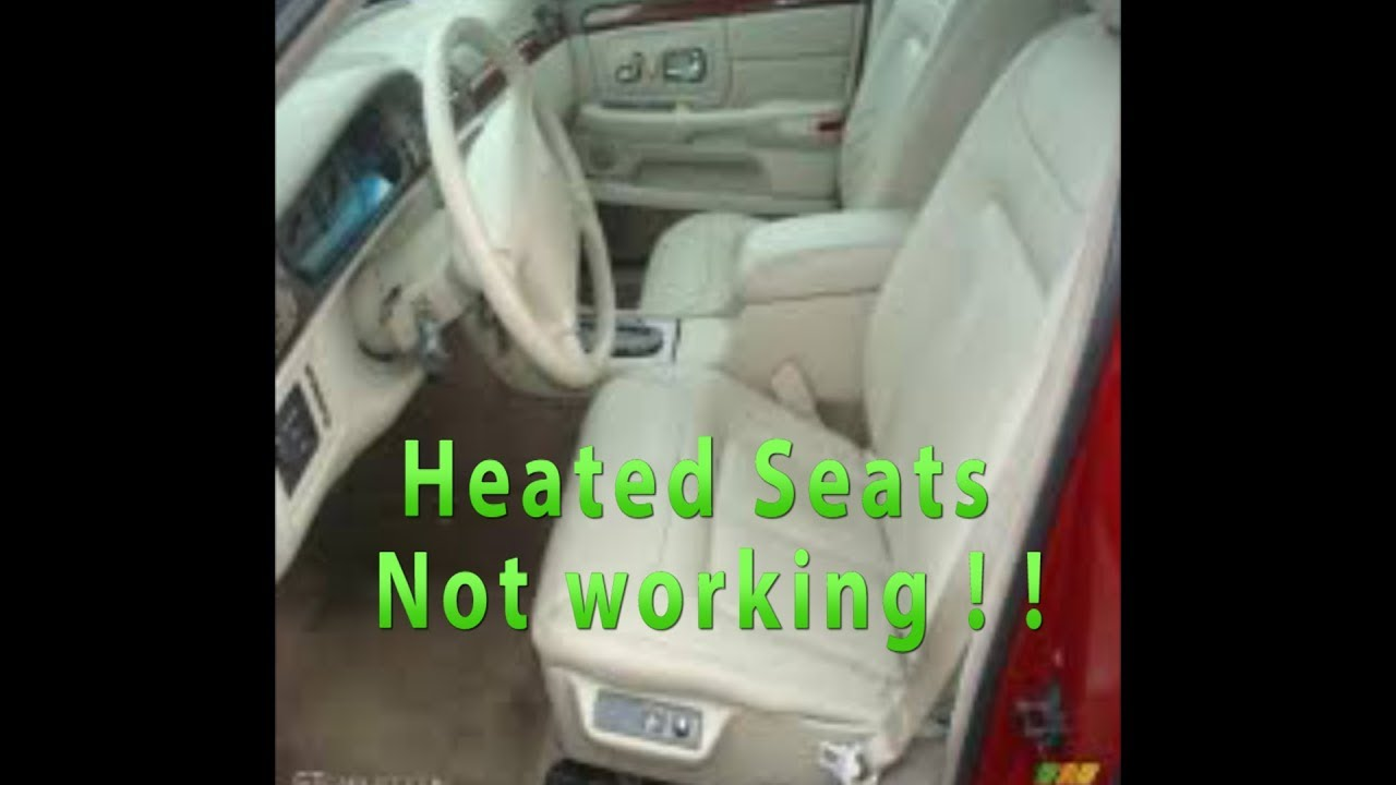 small resolution of cadillac deville heated seats not working on your luxury vehicles heated seat fuse box