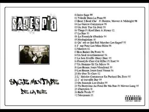 Sages Po' - Sage Mixtape De La Rue - 93/03 (MIXTAPE)