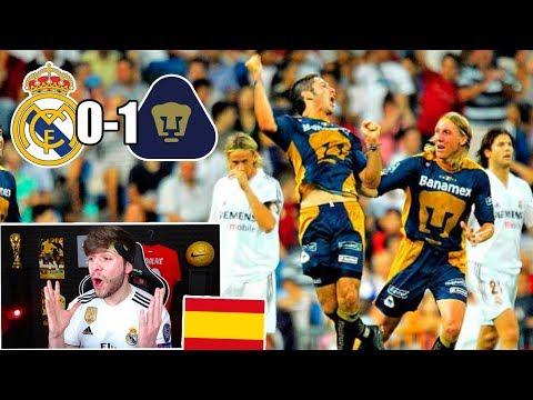 ESPA�OL REACCIONA AL REAL MADRID 0-1 PUMAS