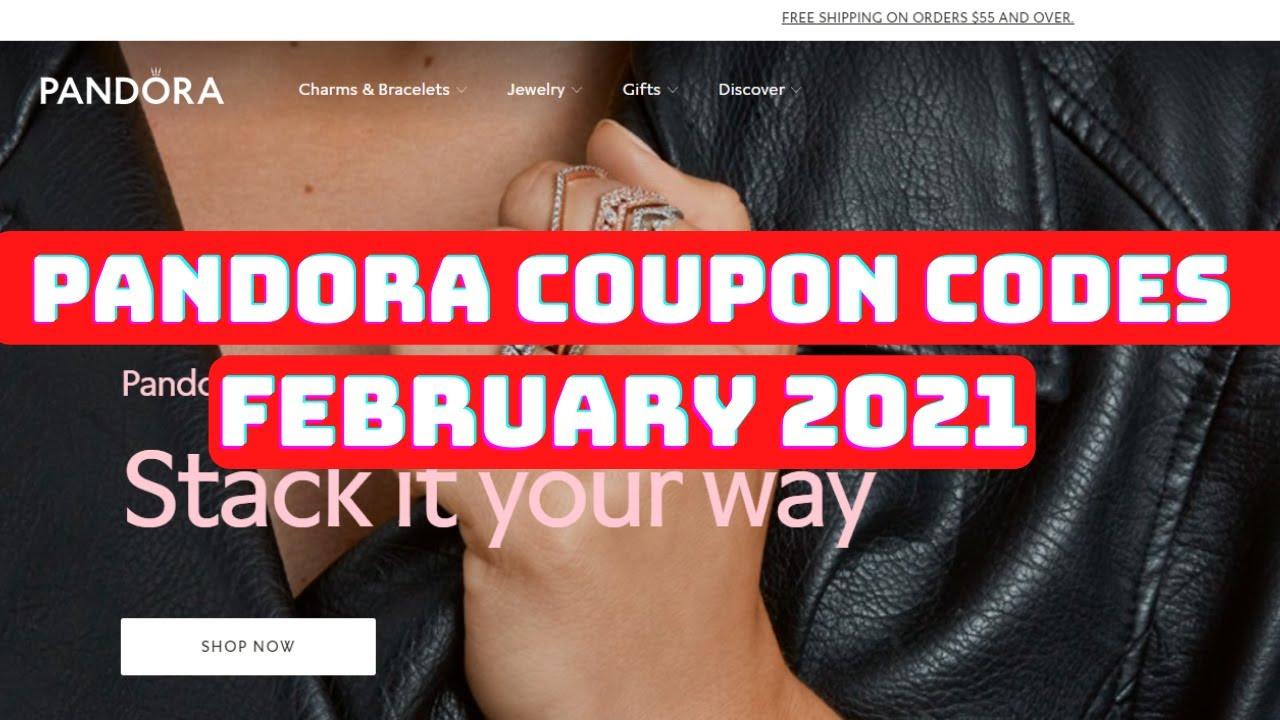 Pandora Coupon Code 2021 February Pandora Coupon Code Pandora Jewelry Coupon Youtube