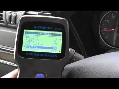 Autophix OM123 Fix Check Engine Warning Light & Live Data