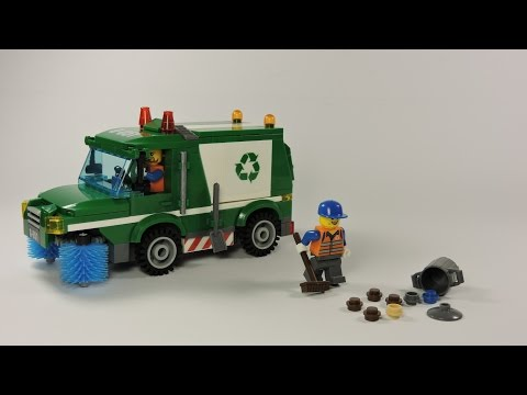 Сборка Brick 1111 Мусоровоз | Enlighten 1111 Garbage truck Stop Motion Build
