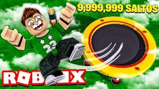 9,999,999 JUMPS in ROBLOX !!