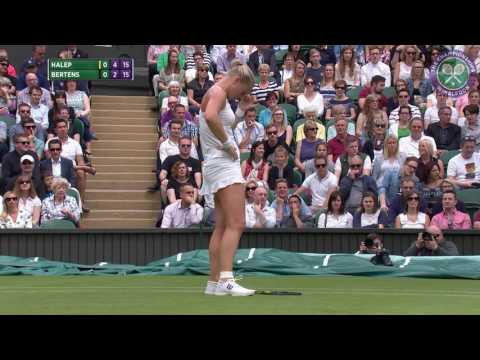 2016, Day 6 Highlights, Simona Halep vs Kiki Bertens