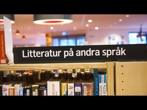 Tiếng Thụy Điển bài 28: Tại thư viện