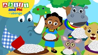 Rice is a yummy food! | Feelings & Friends with Akili and Me | African Educational Cartoons