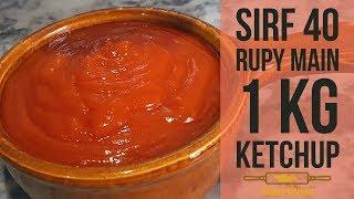 Tomato Ketchup Recipe | How To Make Tomato Ketchup At Home | Golden Kitchen