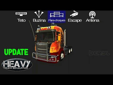 Customize My Truck >> Heavy Truck Simulator Customize My Scania Youtube
