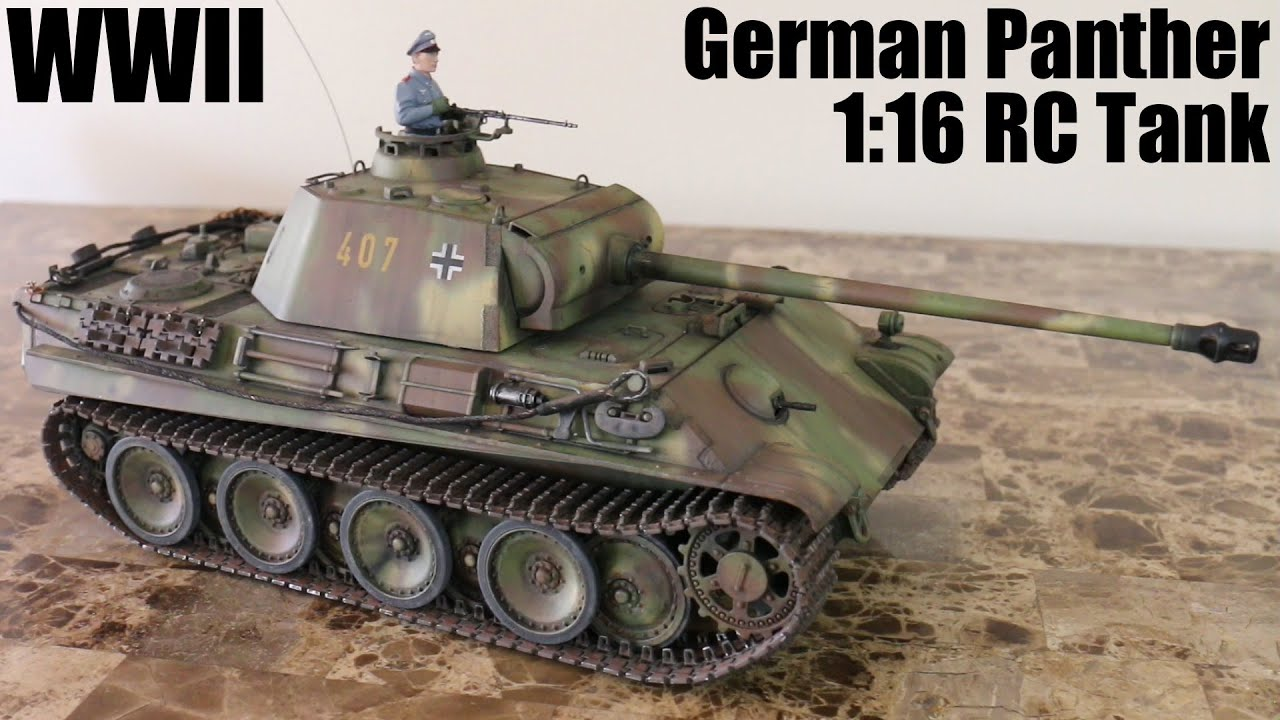 How does the German tank Panther 89