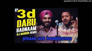 daru badnaam mp3 song download dj