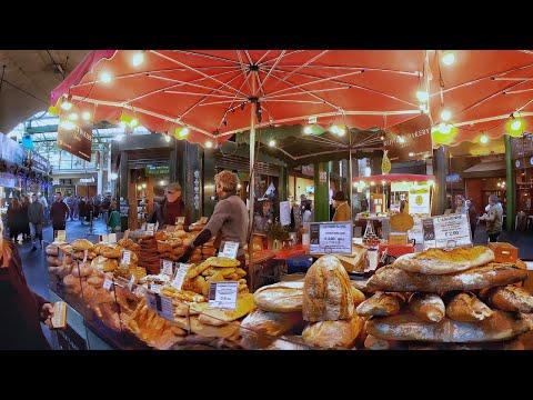 4K London Walk, Borough Market – the LARGEST & OLDEST Food Market in London