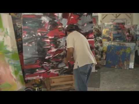 Documentary of abstract painter Suzlee Ibrahim, CoBrA edition