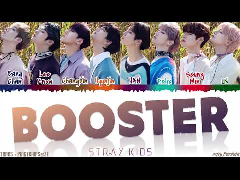 STRAY KIDS - 'BOOSTER' Lyrics [Color Coded_Han_Rom_Eng]