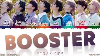 Download Lagu STRAY KIDS - 'BOOSTER' Lyrics [Color Coded_Han_Rom_Eng] mp3