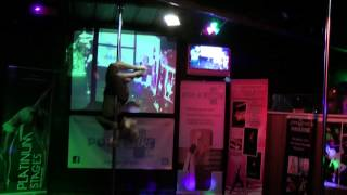 Anna Frost Ist Pole Dance Competition