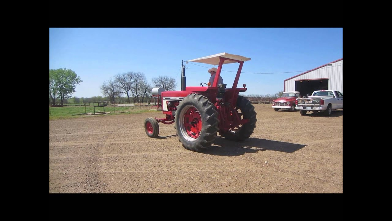 686 International Tractor : International tractor for sale sold at auction