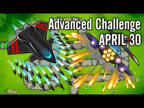 Bloons TD 6 - Advanced Challenge: The Art Of Lite (Yes I Know It's Light)