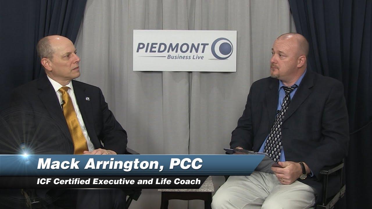 Mack Arrington, PCC- ICF Certified Executive and Life Coach