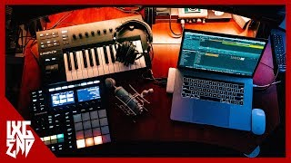 How To Turn Your Bedroom Into A Home Studio | Weekly Studio Vlog