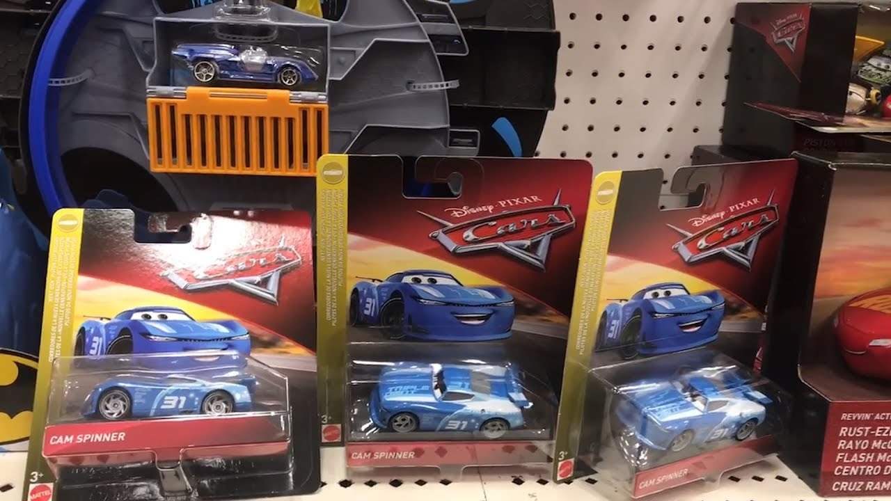 Disney Cars 2019 Toy Hunt Target Found Cam Spinner Next Gen Triple