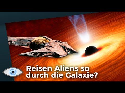 Aliens nutzen Energie aus schwarzen Löchern? Neue Theorie erklärt wie es geht!
