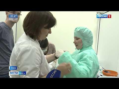 В ситуационном центре Омской медакадемии тренируют врачей оказывать помощь больным коронавирусом