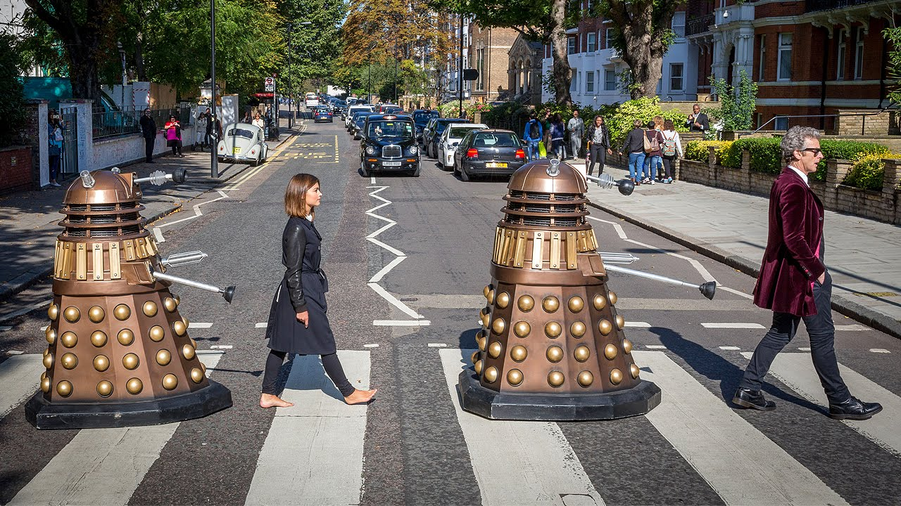 Abbey road photoshoot doctor who youtube - Doctor who dalek pics ...