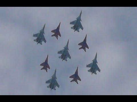 Кубинский бриллиант. Су-30см Русские Витязи и МиГ-29 Стрижи. Севастополь. Авиадартс-2019