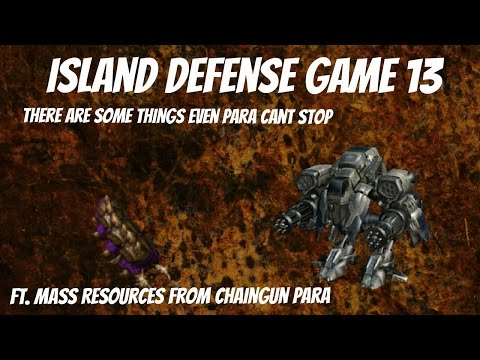 Starcraft 2 Arcade Island Defense - Builder - Game 13 - Para