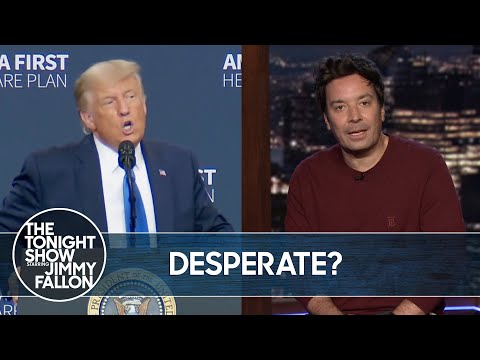 Trump Is Desperate to Win Back Elderly Vote | The Tonight Show
