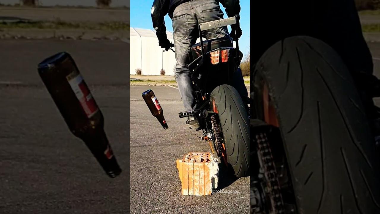 How a biker serves you a beer 🤣 #shorts