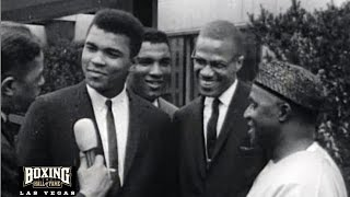 Muhammad Ali and Malcolm X – Rare 1965 Interview