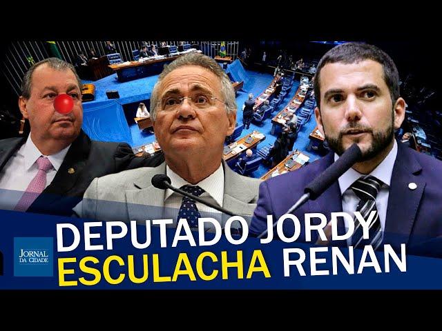 """sddefault Deputado Jordy esculacha Renan: """"Seria melhor colocar Fernandinho Beira-Mar para relatar essa CPI"""" (veja o vídeo)"""
