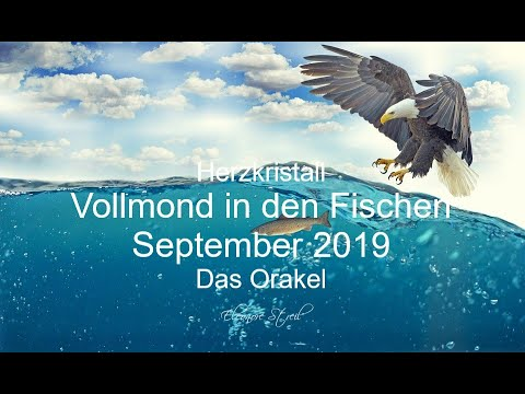 Vollmond im Wassermann 15.08.2019 - Orakel - Vertrauen  und Aktion
