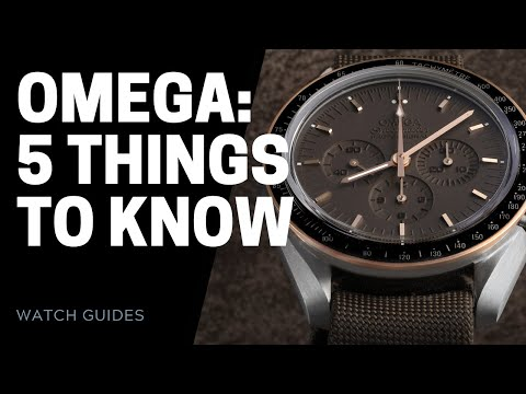 OMEGA Watches History - 5 Things to Know | SwissWatchExpo