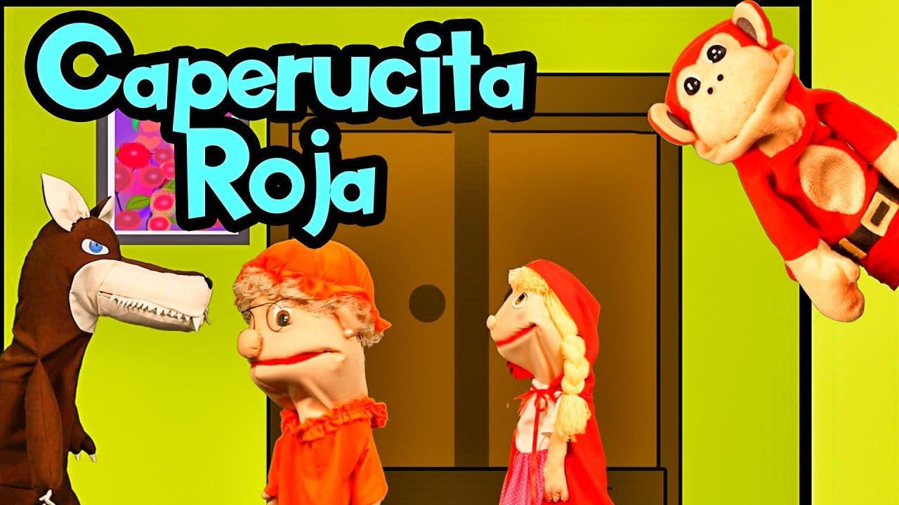 El Cuento de la Caperucita Roja y el Lobo Feroz con El Mono Sílabo | Lunacreciente