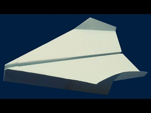Best Paper Airplane For Distance And Speed - Craft Times