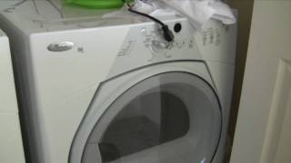 whirlpool duet sport washer will not drain
