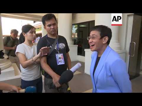 Online news journalist Maria Ressa posts  bail on tax evasion charges Mp3