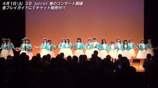2017年3月18日(土) 西荻地域区民センターで行われた3B junior「第24回定...