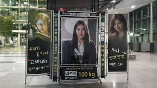 SBS 금토드라마 '배가본드' 제작발표회 배우 배수지(SUZY 裵秀智) 응원 연탄드리미화환-T…