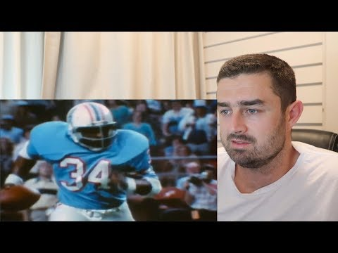 Rugby Fan Reacts to EARL CAMPBELL NFL Career Highlights!