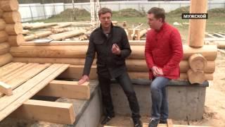 видео Основные виды бревен для строительства деревянного дома
