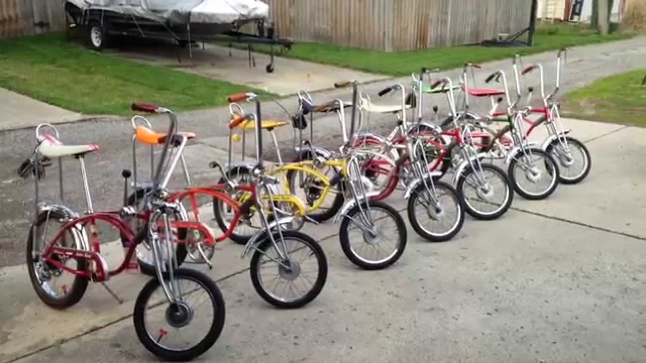 Schwinn Sting Ray Krate Collection Youtube