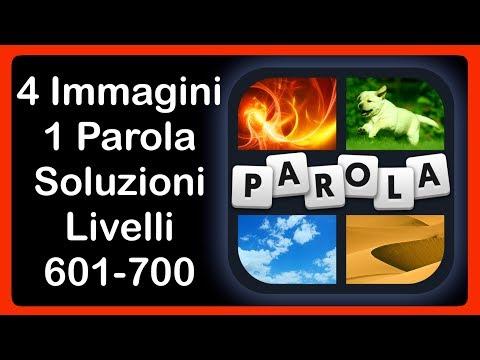 4 Immagini 1 Parola - Livelli 601 - 700 [HD] (iphone, Android, IOS)