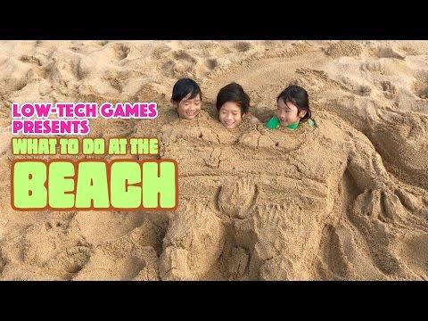 What To Do At The Beach - 9 Kids Beach Activities - Fun Ideas For The Beach