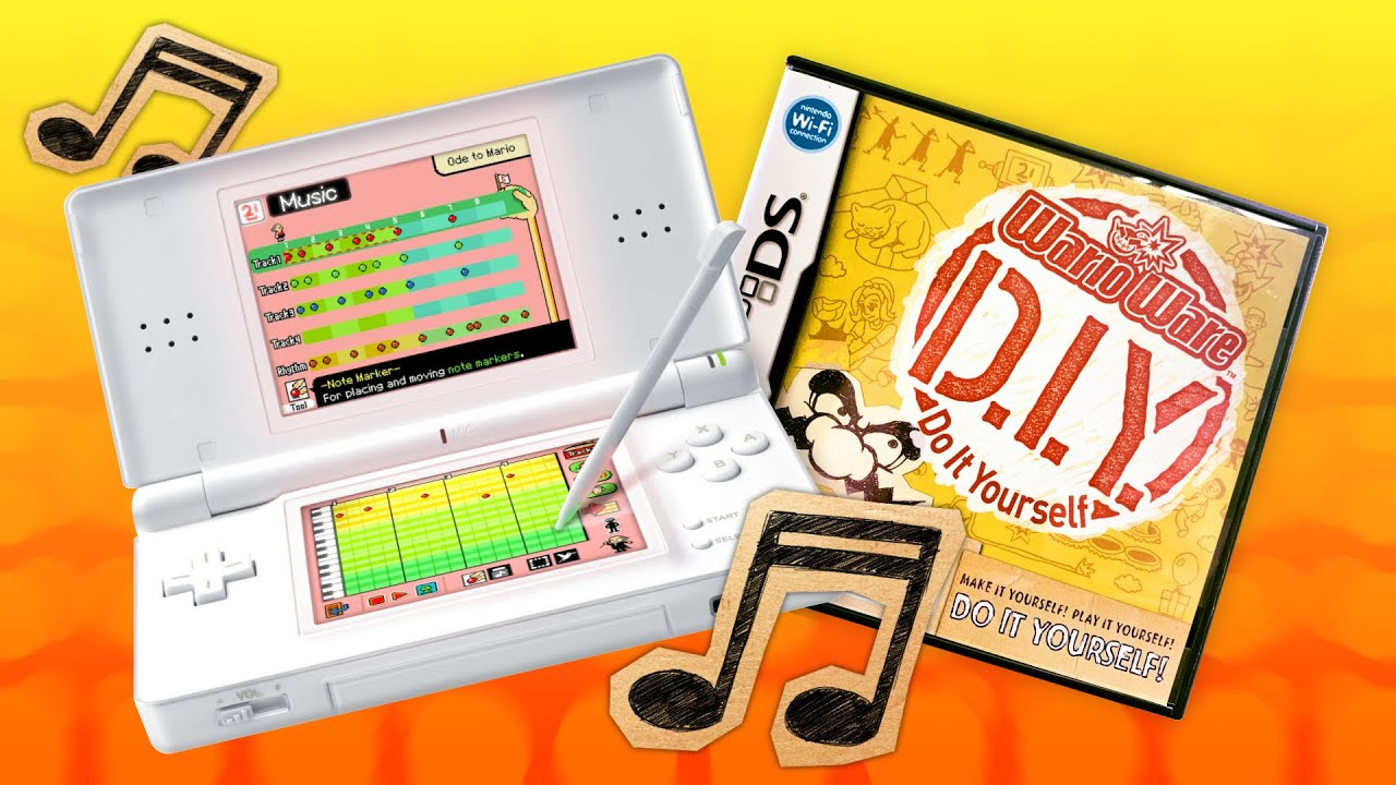 Making questionable beats with a Nintendo DS game