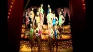 Шакира на съемках рекламного ролика для Билайна