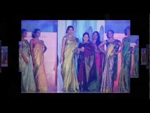 Palam Fashion Show Concept Sarees with Parvathi Omanakuttan Stills