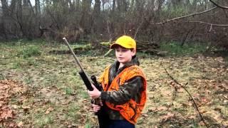 Enzo  10 yr old  hunting hogzilla